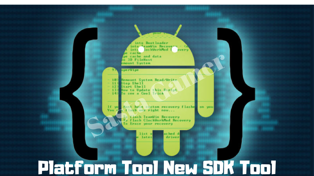 What are the android sdk build-tools, platform-tools and tools.
