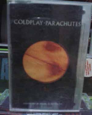 Kaset Coldplay - Parachutes