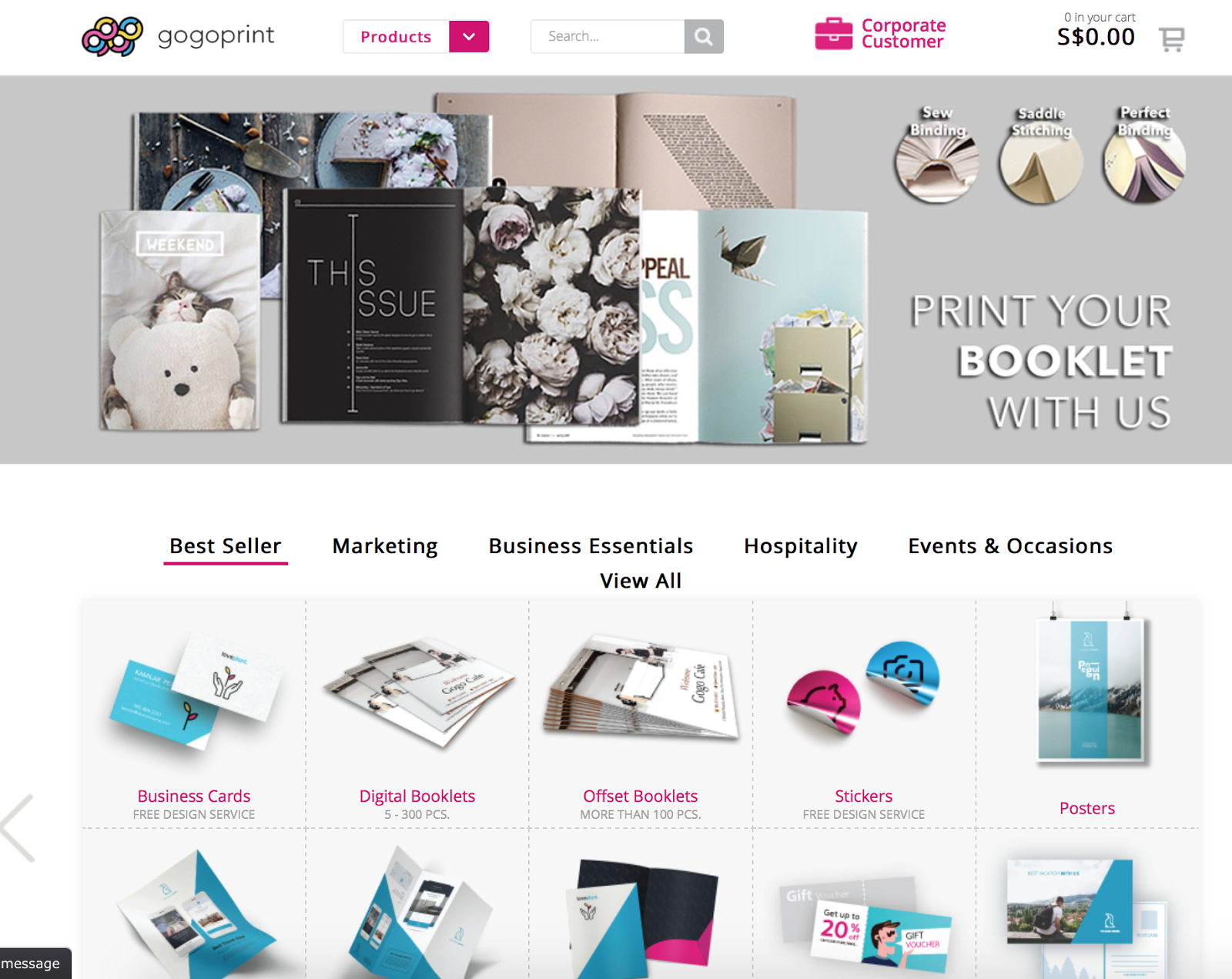 review gogoprint sg travellersdiari this is the home page it is easy to use their platform