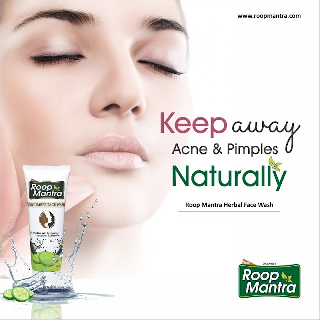 Keep Away acne and Pimples Naturally - Roop Mantra