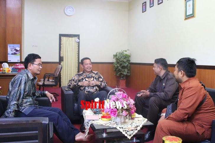 Pengurus PP.Polri Daerah Sulsel Pererat  Hubungan Silaturahmi Kakankemenag Sinjai