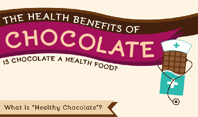 The Health Benefits Of Chocolate #infographic