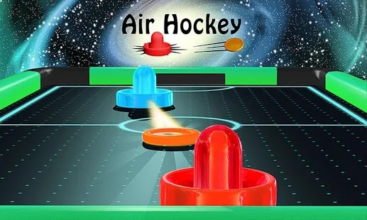 Air Hockey – Ice to Glow Age Apk Free on Android Game Download