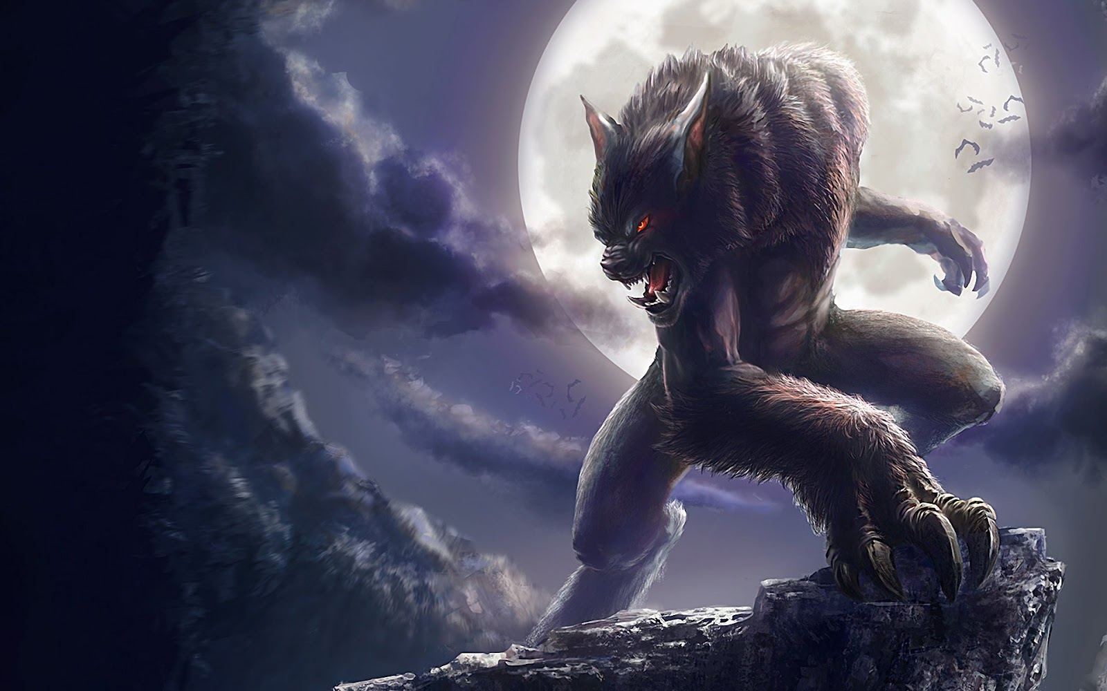 Download Printable Werewolf Cards Gratis