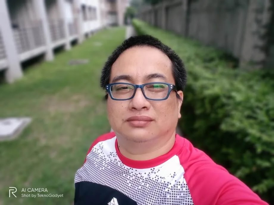 Realme C11 Camera Sample - Selfie, Portrait