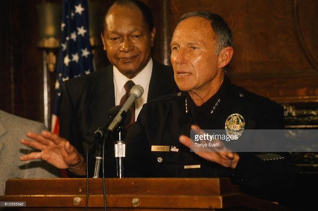 pejabat berwenang pada konflik ras LA 1992