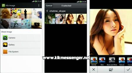 Comprarte tus fotos con Image For Kik