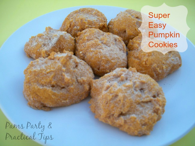 How to make 2 ingredient pumpkin cookies