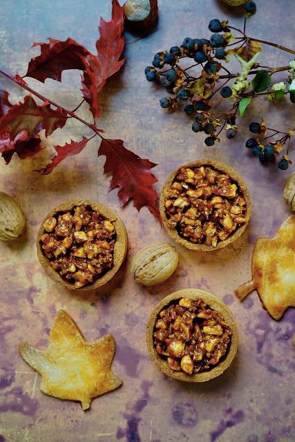 comfort food , cuisine d'automne , pâte sucrée , Régilait , fruits secs , caramel
