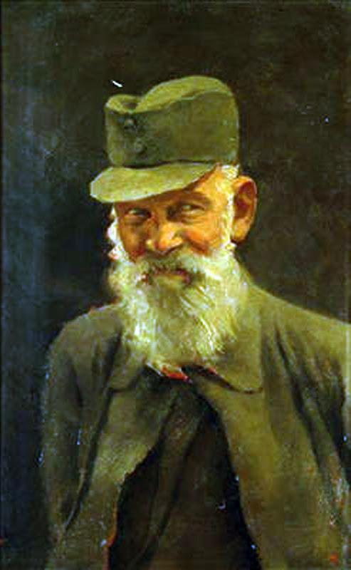 Laszlo Mednyanszky, Selt Portrait, Portraits of Painters