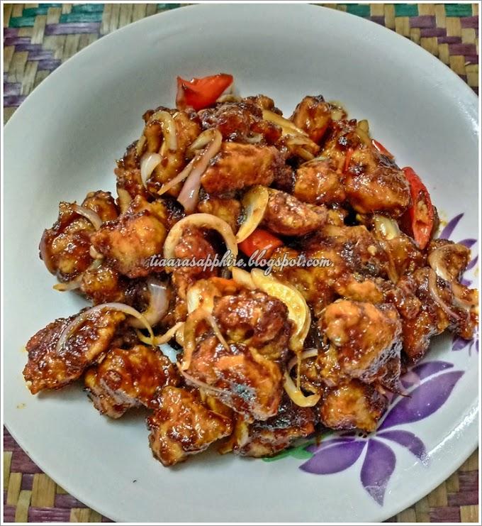 Resepi | Ayam Popcorn Sambal Manis