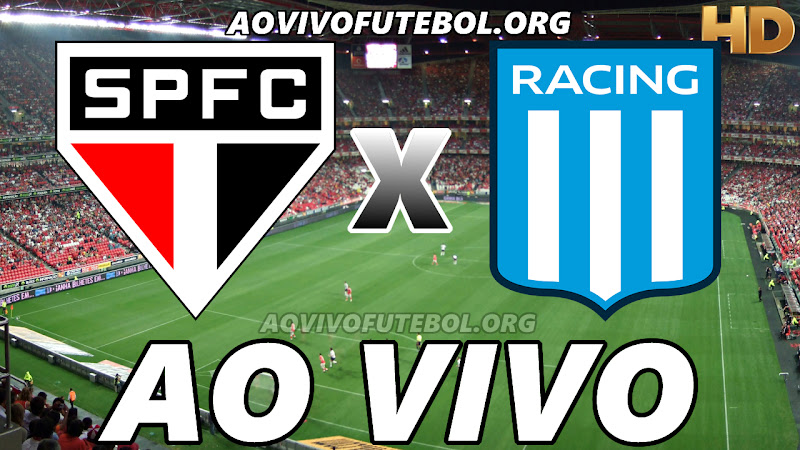 São Paulo x Racing Club Ao Vivo na TV HD