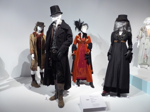 Taboo season 1 TV costumes