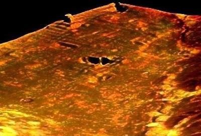 Il presunto ziqqurat di Marte