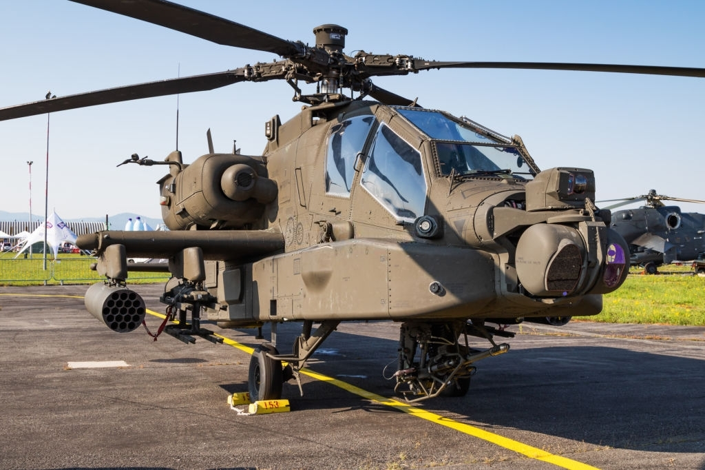 1 Boeing AH-64E Apache Guardian  most powerful military helicopters