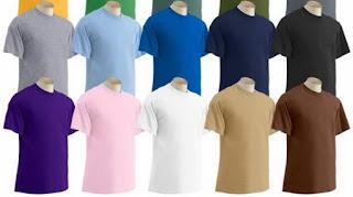 Jenis Warna Kaos Yang Sering Menjadi Pilihan Untuk Digunakan