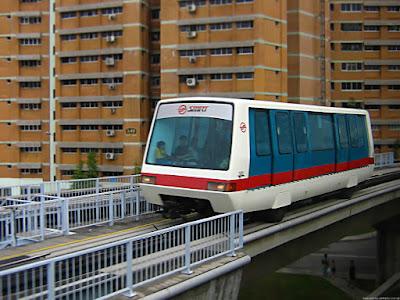 LRT singapura