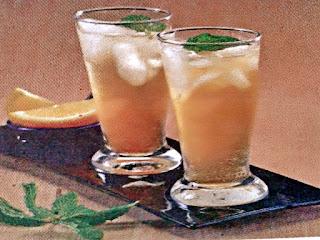 Gambar Resep Minuman Segar Green Tea Lemonade