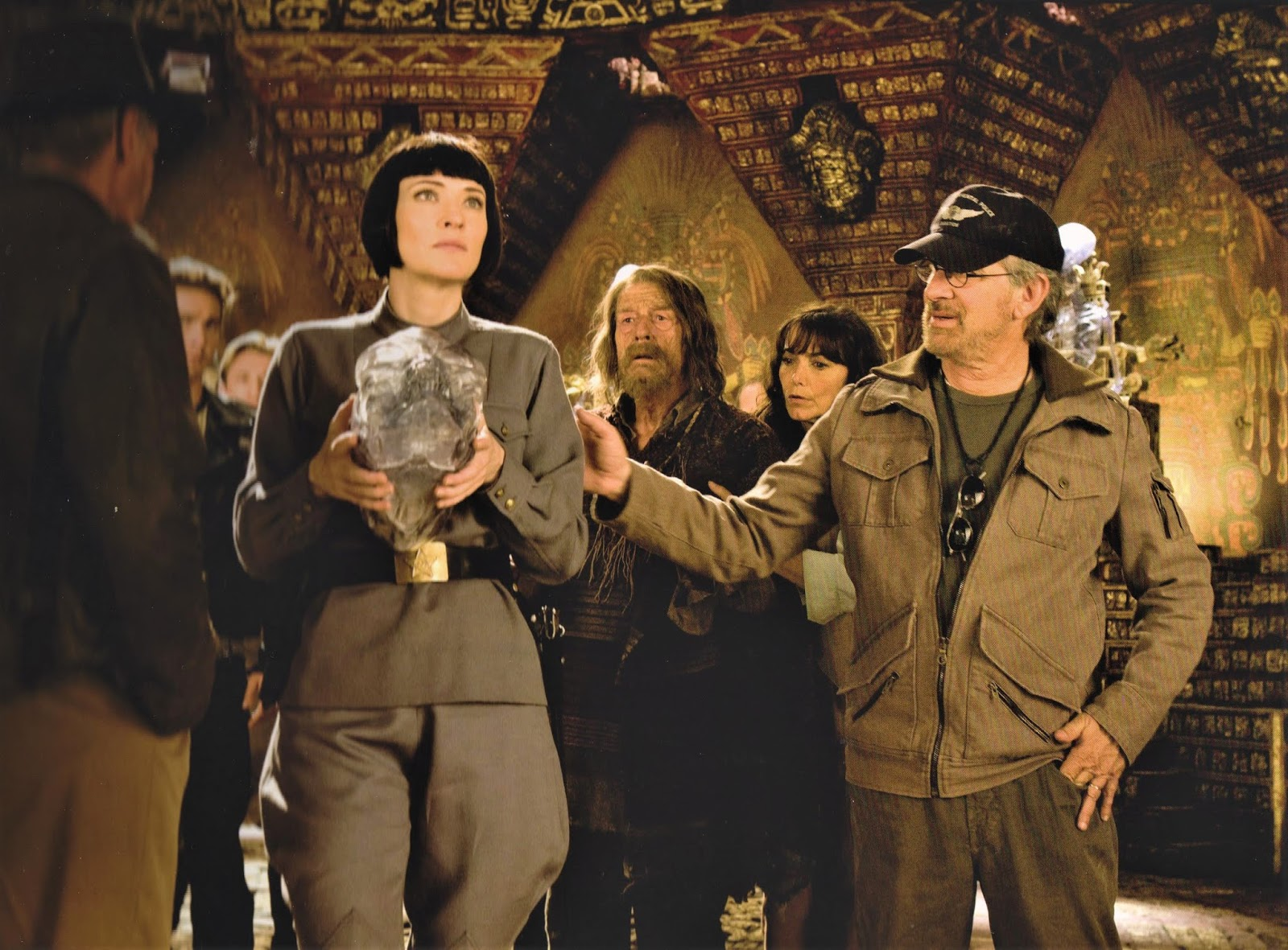 behind the scenes photos indiana jones and the kingdom of the crystal skull