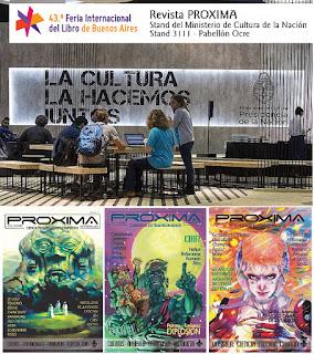PROXIMA en la Feria del Libro 2017
