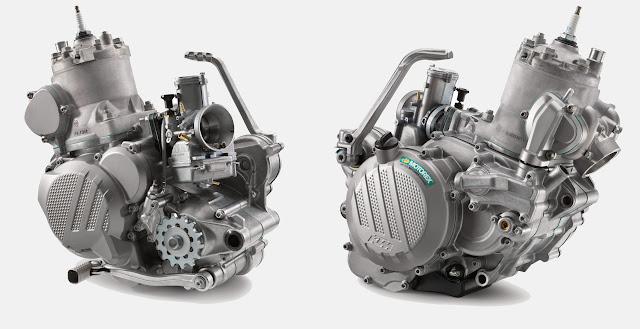 KTM 300/250 EXC 2017.