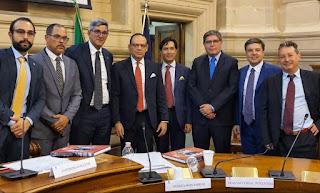 Colegio de Abogados Dominicano y la Orden de Abogados de Roma suscriben acuerdo de cooperación interinstitucional