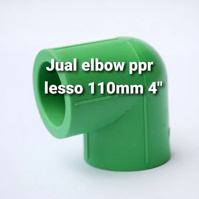 """Jual online pipa ppr elbow lesso 4"""""""