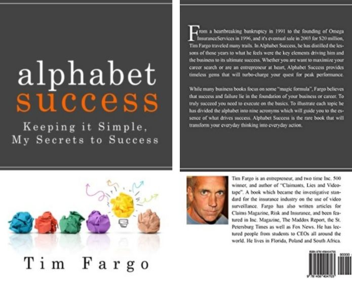 Tim Fargo's Book: My Secrets to Success - Key Elements Driving His Business