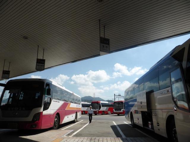 Estación de autobuses a casi todas las ciudades de Corea del Sur