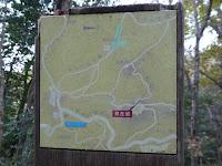くろんど園地・ハイキング コース案内図