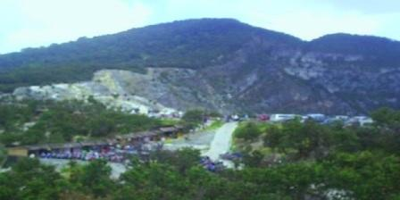 Lokasi Wisata Gunung Tangkuban Perahu