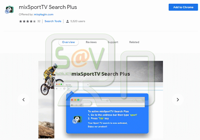 MixSportTV Search Plus (Hijacker)