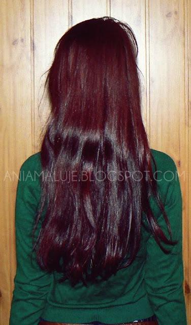 włosy marzec 2012 aniamaluje