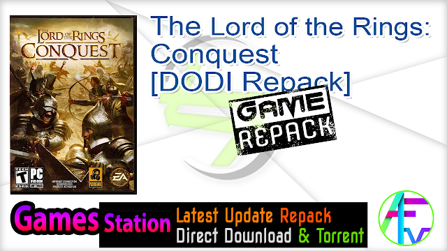 The Lord of the Rings Conquest – [DODI Repack]