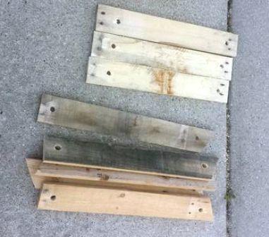 kayu bekas pallet