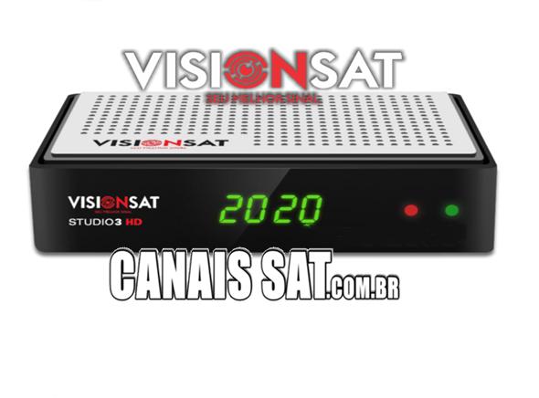 Visionsat Studio 3 HD Atualização V1.70 - 27/10/2020