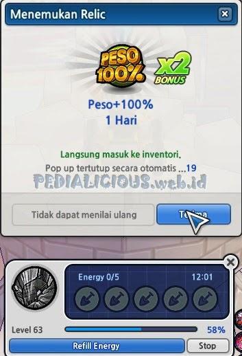 item peso 100% gratis new relic lost saga