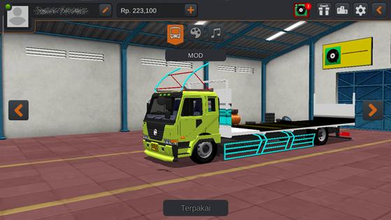 mod truck bussid nissan cwa mtsa flat