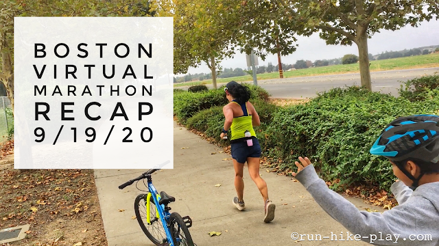 Boston Virtual Marathon Race Recap 9/19/20