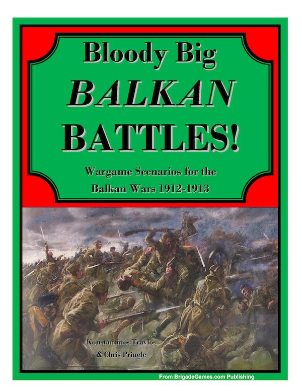 Bloody Big Balkan Battles! Cover