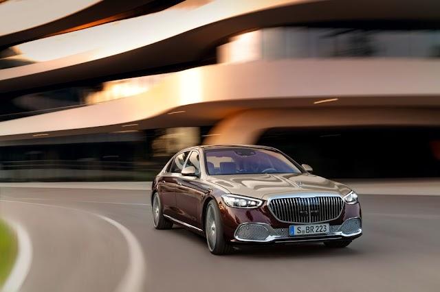 2021 Mercedes-Maybach S580 Luxury