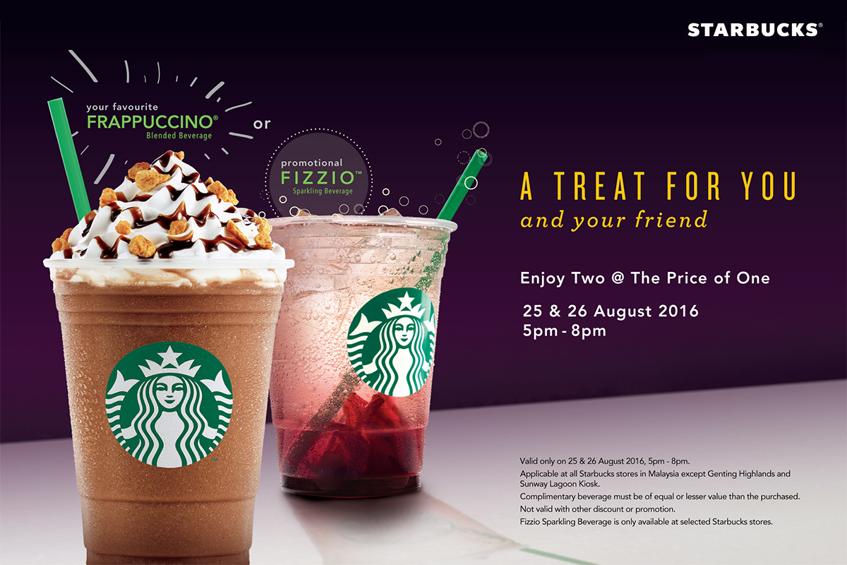Starbucks 12 cent promotional giveaways