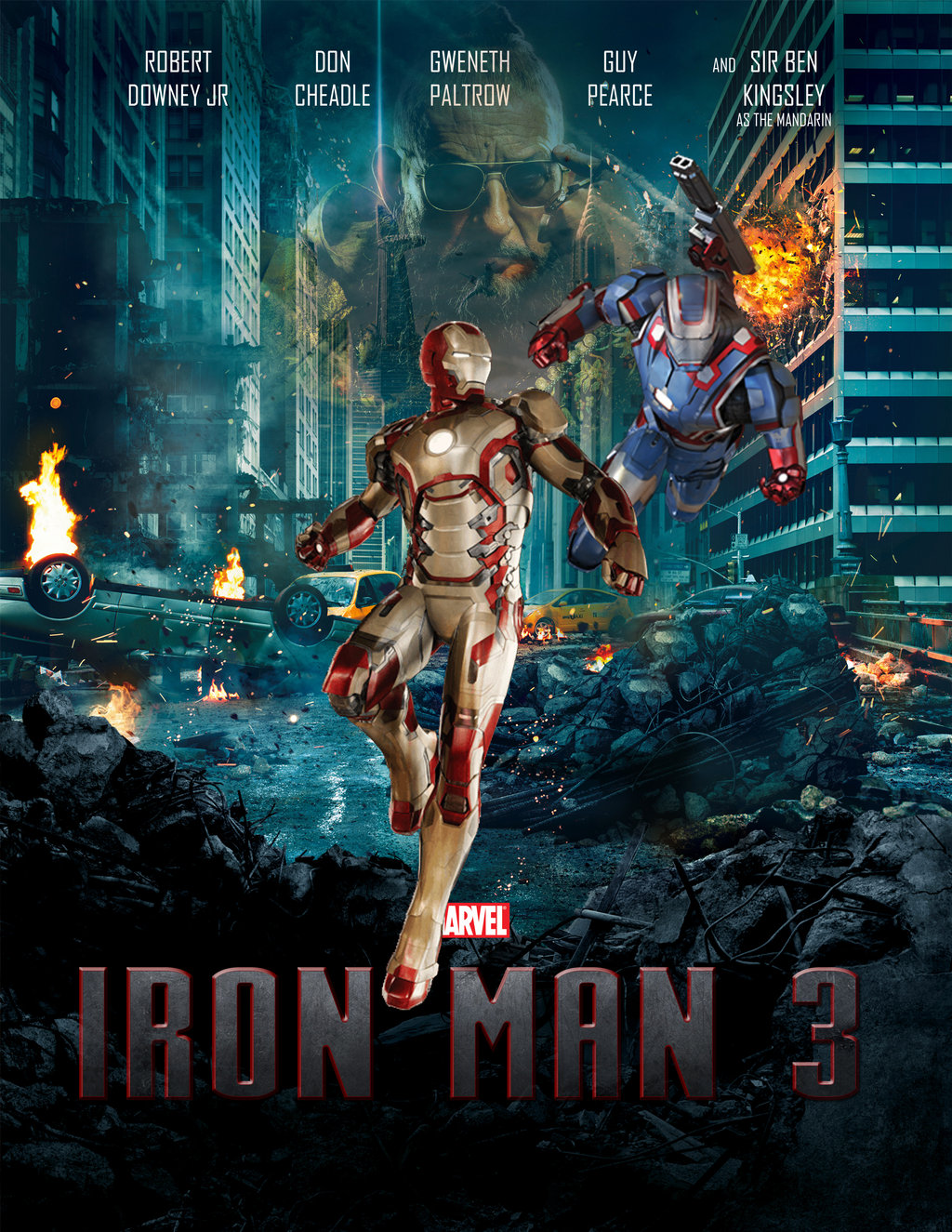 Iron Man 3 Movie Picture: All Pic