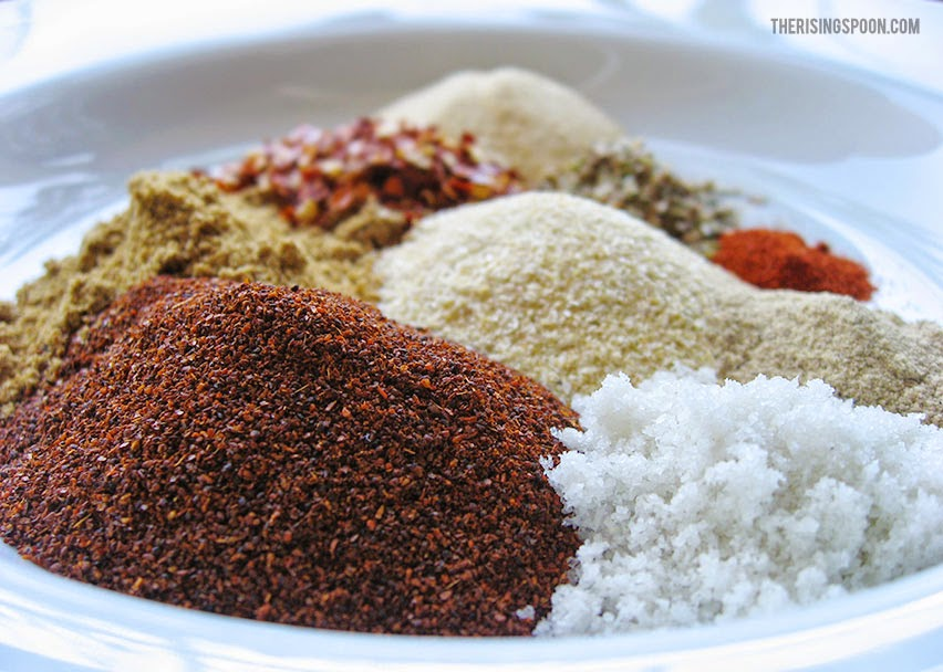 Homemade Spicy Taco Seasoning Mix