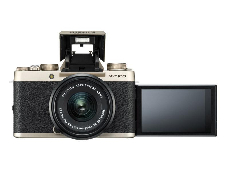 Fuji X-T100 retro camera