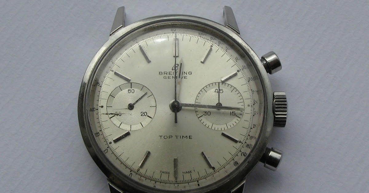 Andy B Vintage Watches 1960 S Breitling Top Time 2002