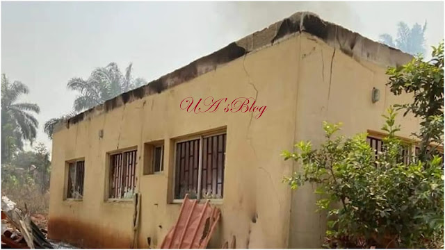 Fire guts INEC office, residential building in Anambra, seven injured
