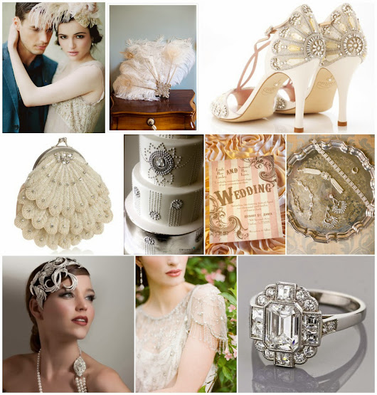 Roaring Twenties Wedding Theme - Wedding Party