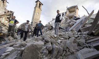 Terremoto Amatrice, Accumoli, Arquata