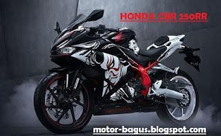 Harga motor Honda CBR 250 RR baru lengkap